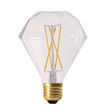 Elect LED Filament Diamond Clear 9cm