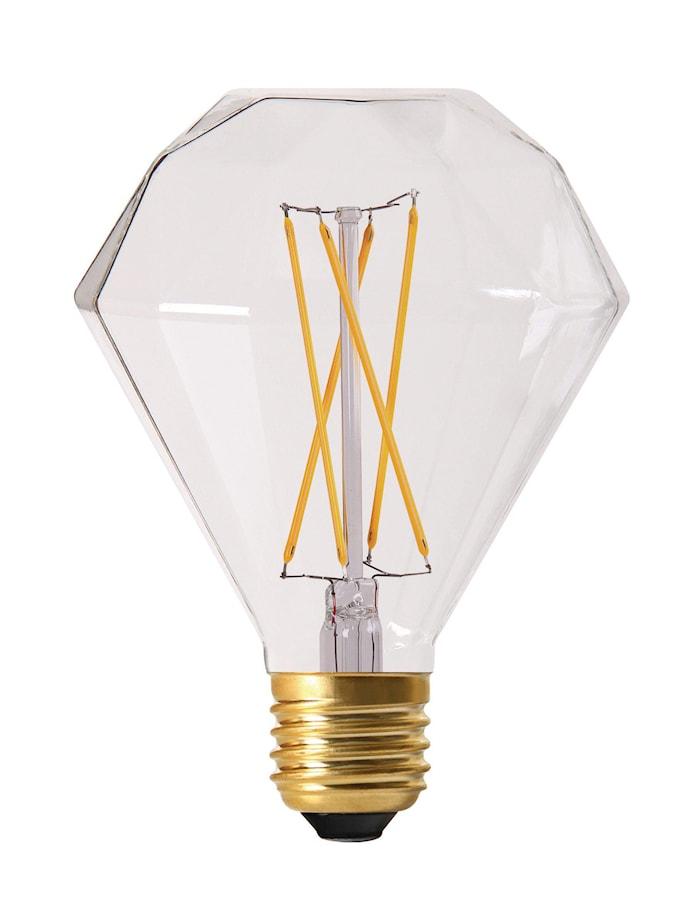 Elect LED Filament Diamond Clear 9 cm