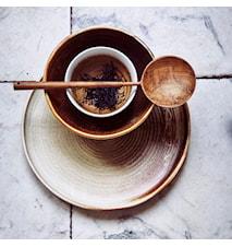 Kyoto Dessertskål Brun