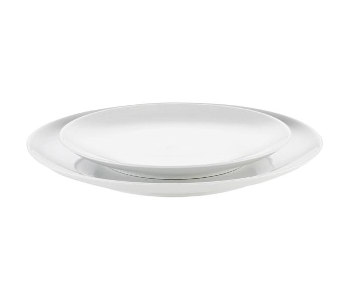 Cecil tallrik flat vit Ø 21 cm