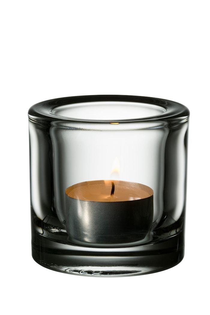 Kivi Kynttilälyhty 60mm, Läpinäkyvä