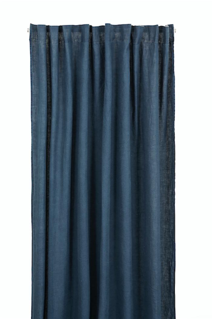 Lin Louren Multibåndlengde 145x250 - Dark blue