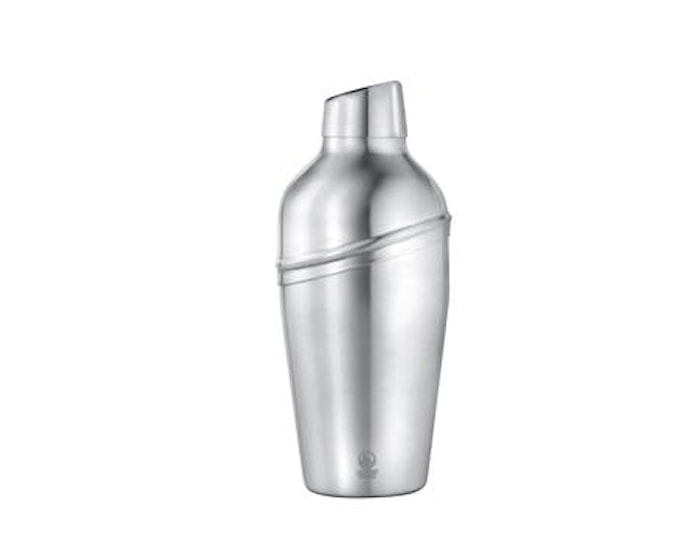 Shaker siivilällä Nojaava kansi Matta Teräs - 0,5 Litraa