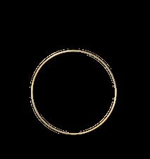 Deco Frame Ring Large Mässing
