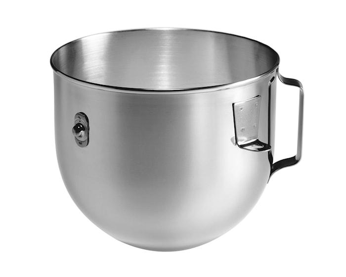 Heavy Duty skål til kjøkkenmaskin stål 4,8 L