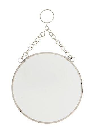 Pyöreä Peili Ø 15 cm - hopea