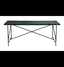 Dining table 185 cm mässing matbord - Grön