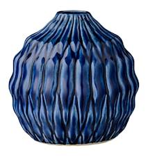 Vaasi Sininen Kivitavaraa 15x15cm