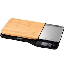 Digital köksvåg 5 kg med löstagbar skå