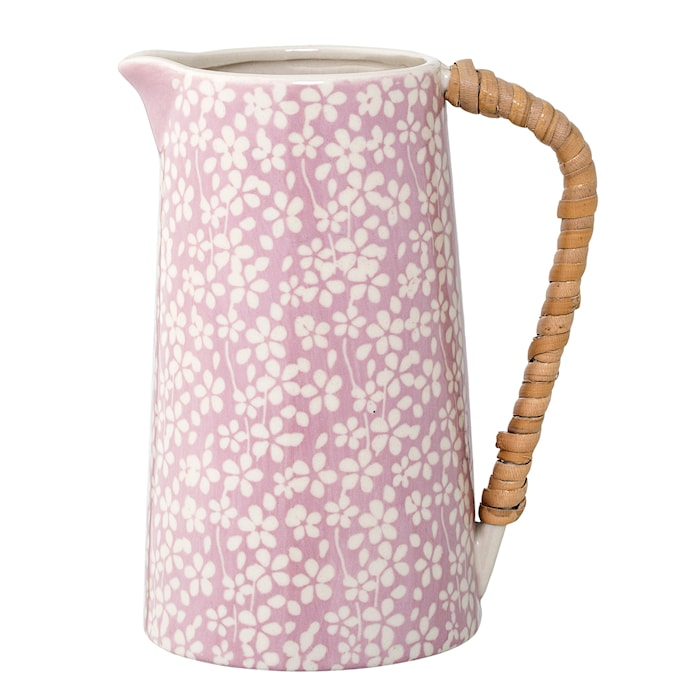 Mælkekande Blommig Lilla Stentøj 10x17 cm