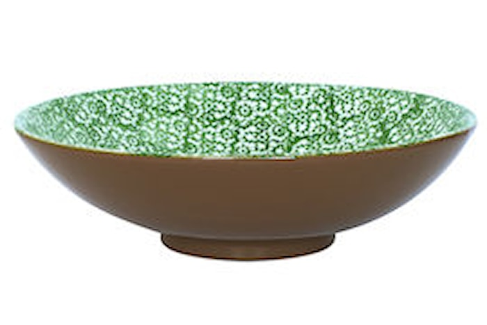 Vesta Salatskål Grønn 35 cm