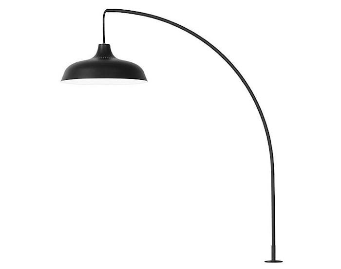 Arch Bordslampa Med klämfäste Svart 3000k