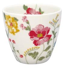 Thilde Latte Cup Vit