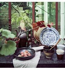 Kyoto Dyp tallerken Svart