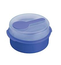 Salladsbox Plast Blå