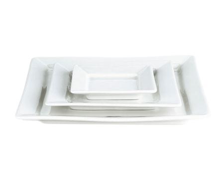 Quartet tallerken flad hvid, 26 cm