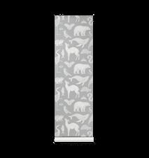 Katie Scott Tapet Animals Mint Grey
