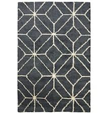 Berber Ayur Matta Ull Vit/Grey Melange 230x320 cm