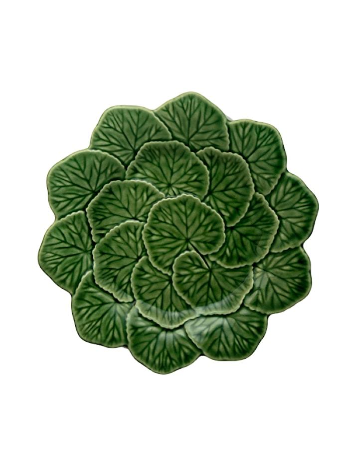 Geranium Frukttallrik Grön 22 cm