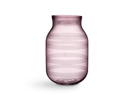 Omaggio Vase H280 Plum