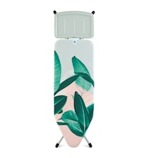 Strygebord Stl C med Solid Dampstationsholder Tropical Leaves