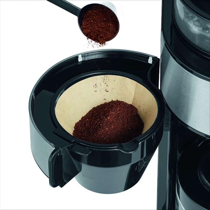 Kaffetrakter med Kvern 6 Kopper