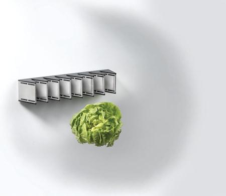 Magneto knivmagnet til 8 knive 27,5 cm