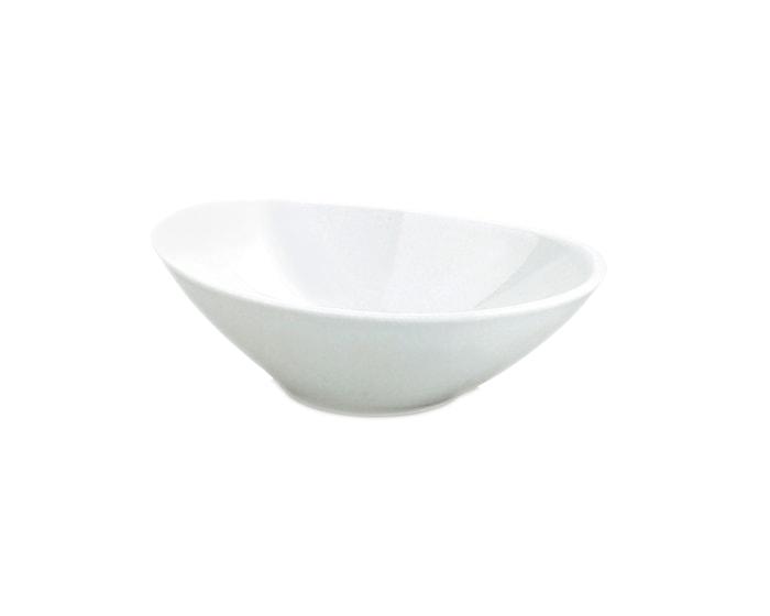 Guacamoleskål oval vit 24 cl