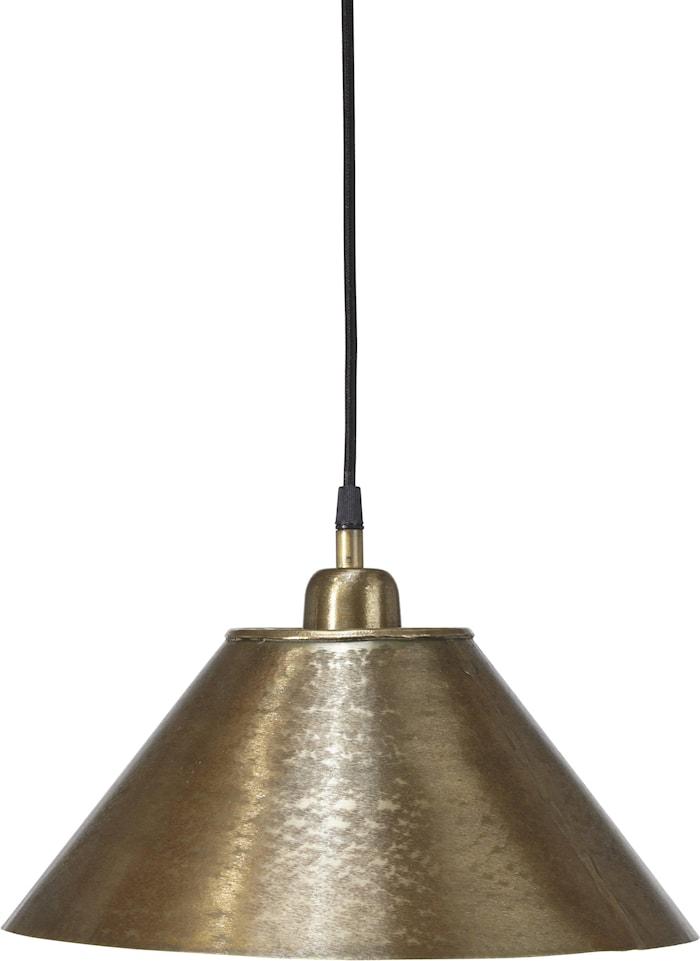 Chester Loftslampe Beaten Gold 35 cm