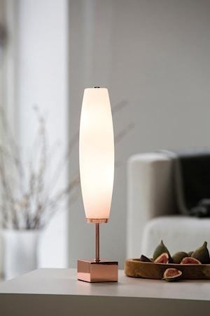 Micro Zenta Bordslampa Koppar Vit