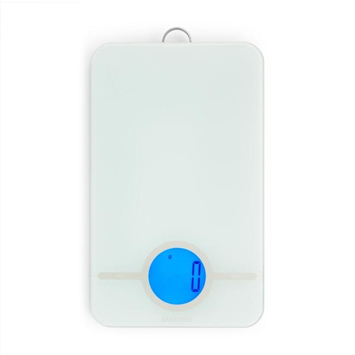 Tasty Digital Köksvåg med glasyta Ljusgrå