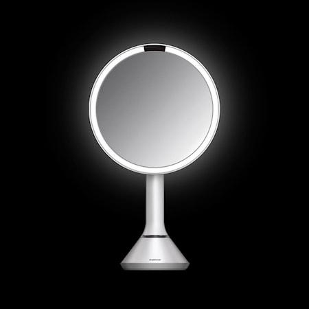 Sensor Spegel med Justerbar ljusstyrka Vit