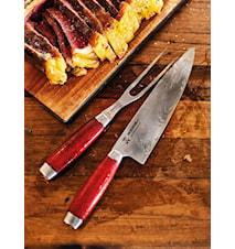 Classic 1891 Kockkniv 22 cm Röd
