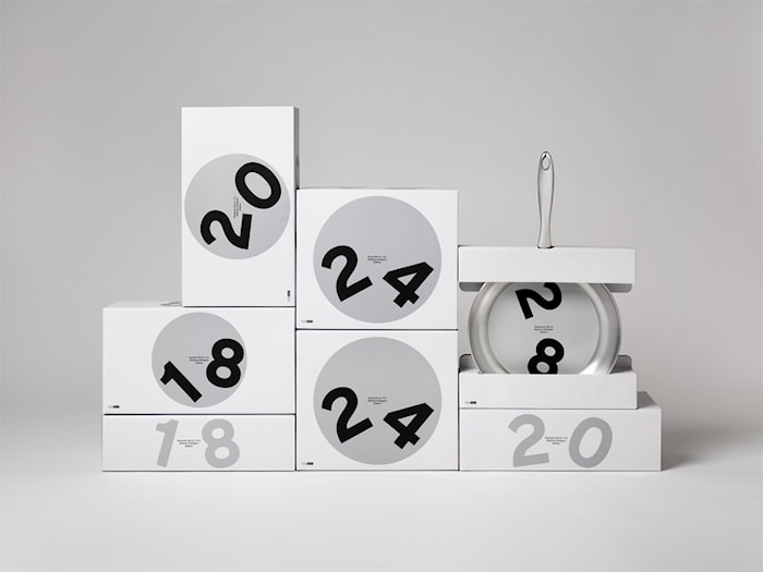 Paistinpannu 24 cm C3+ 5-Ply Mathias Dahlgren