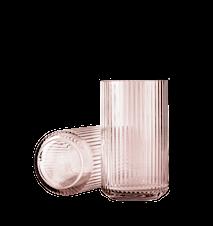 Vas Munblåst Glas Burgundy 25cm