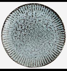 Lautanen Ø 27,5 cm - Vihreä/Musta