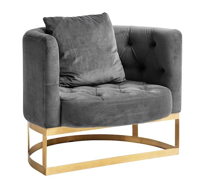 Lounge lænestol - Grå