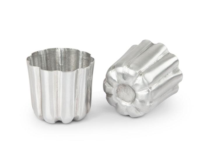 Canelé Vuoka 2-pakkaus metallia