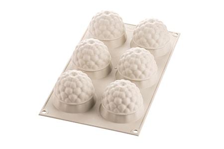 Design 3D Silikonform Segreti Del Bosco D:6.5 cm Ljusgrå