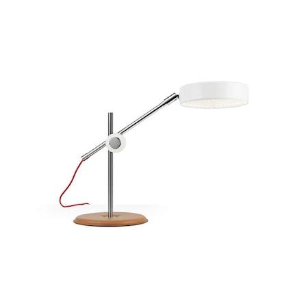 Simris bordslampa - vit