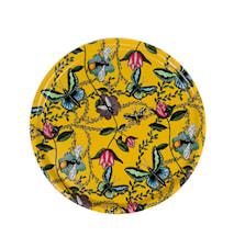 Nadja Wedin Design Tablett 38 cm Bugs & Butterflies Gelb