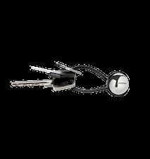 My Nyckelring Stål Svart