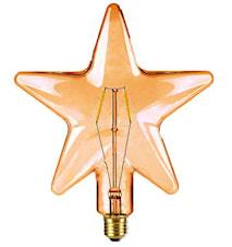 Shaped LED Filament Guld Stjärna 210mm