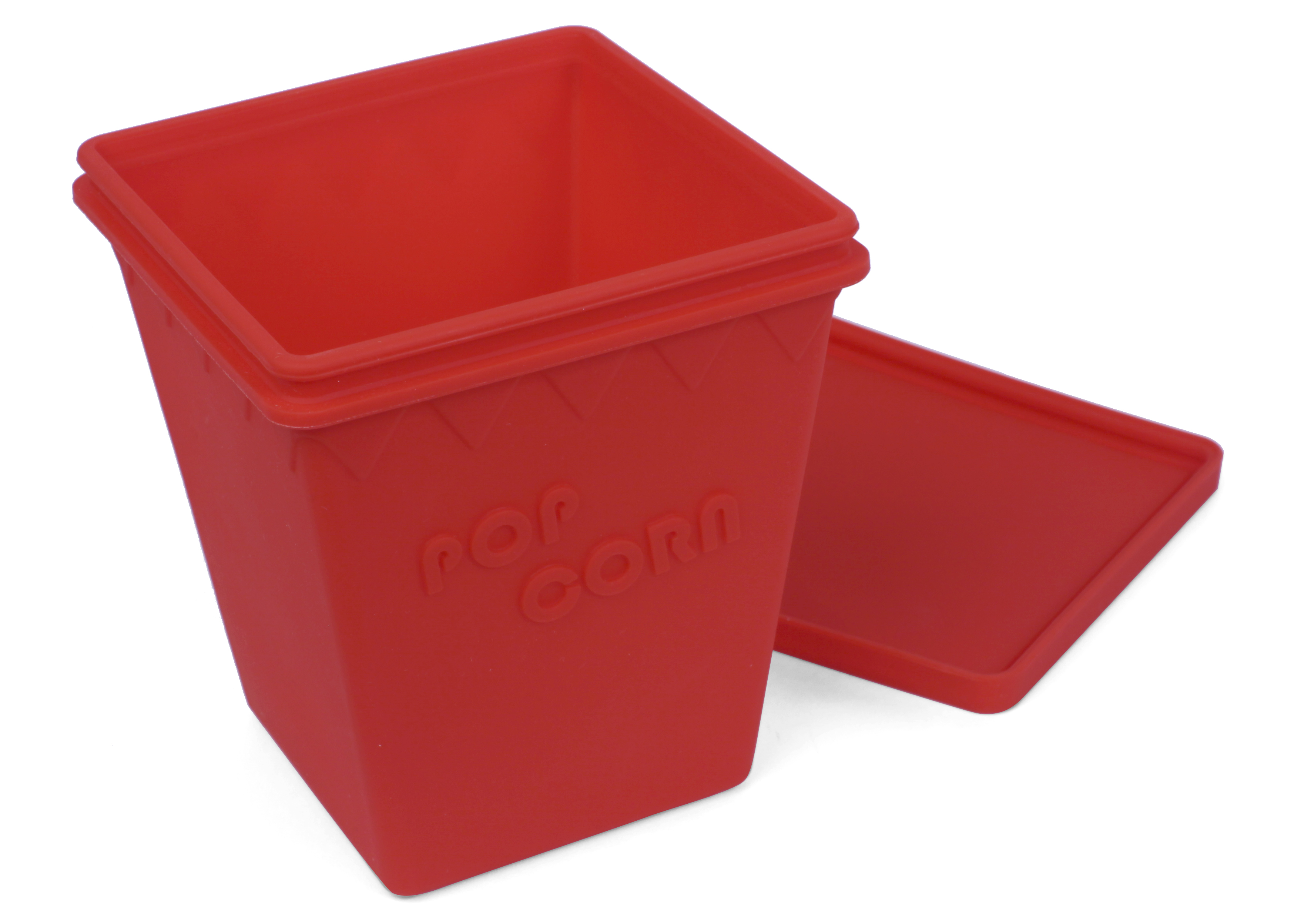 Popcornlåda Röd