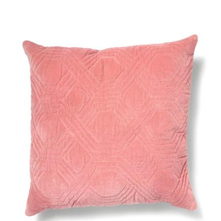 Kudde Geometric - Dusty Pink