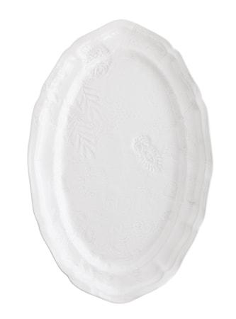 Fat Oval Vit