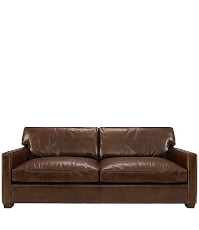 Artwood Viscount soffa - 2-sits, Leather cigarr