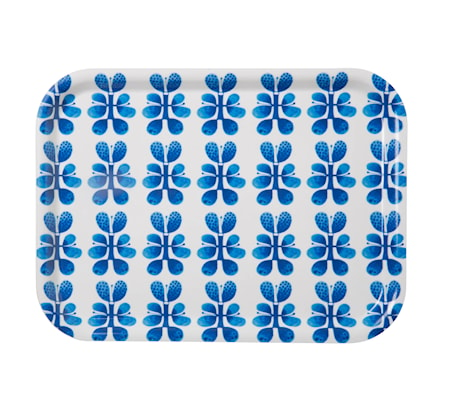 Vassoio Blues 27 x 20 cm blu