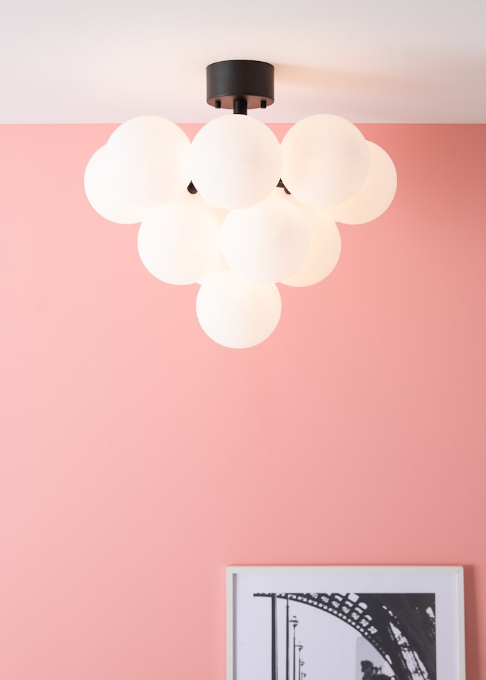 Merlot Plafond Svart/Vit 13L
