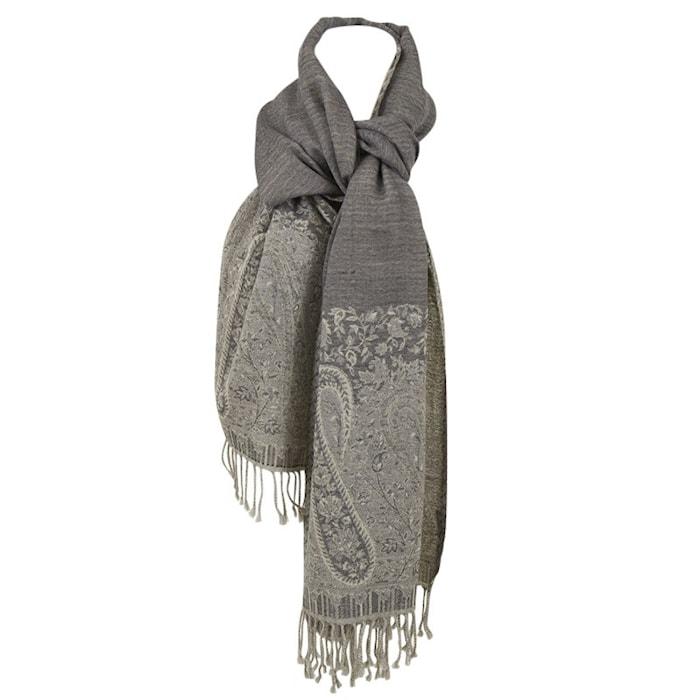 Wool scarf 70x180 - Grå